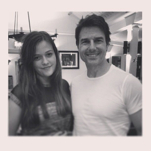 Felicite Tomlinson with Tom Cruise. :)