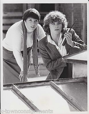 Cagney & Lacey Tyne Daly & Meg Foster TV Movie Actor Vintage Press Photo