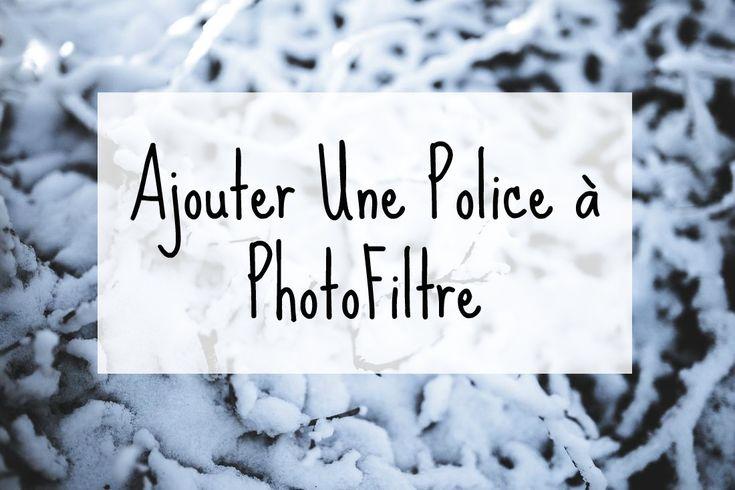 Découvrez comment ajouter vite et bien une Police à Photofiltre et autres logiciels afin de réaliser de beaux visuels avec texte pour votre blog ou site web
