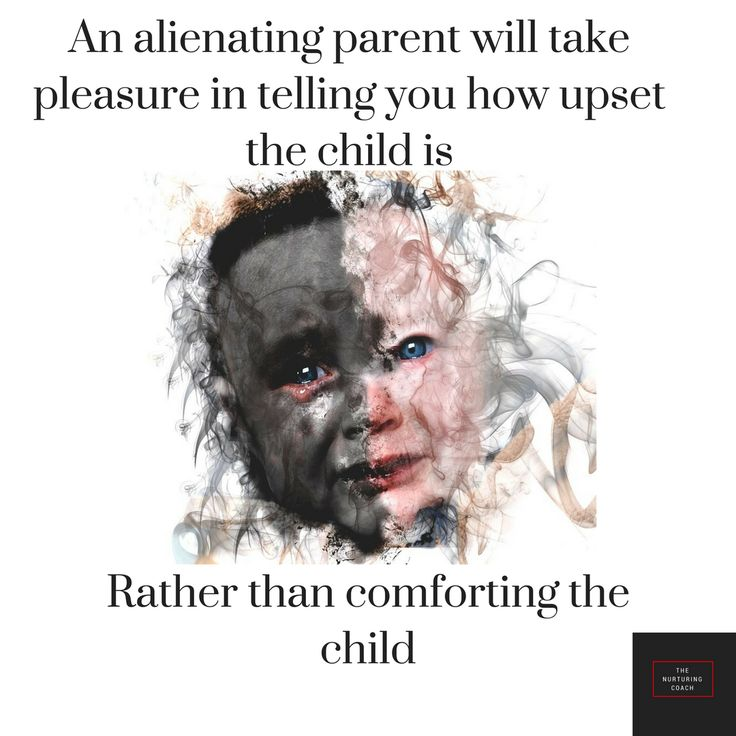 A nurturing, non-abusive mother's natural instinct when they see their child upset is to go to them and offer comfort.  A narcissist's natural instinct is to record the child or phone the ex to tell them about it and blame them.  The child therefore learns that no-one cares.  That their feelings don't mean anything.  And if they get upset it will be used to hurt their parent.    #parentalalienation #parentalalienationischildabuse