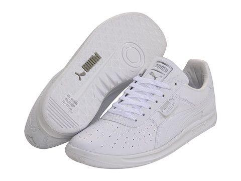 PUMA G. Vilas L2 White/Metallic Silver - Zappos.com Free Shipping BOTH Ways