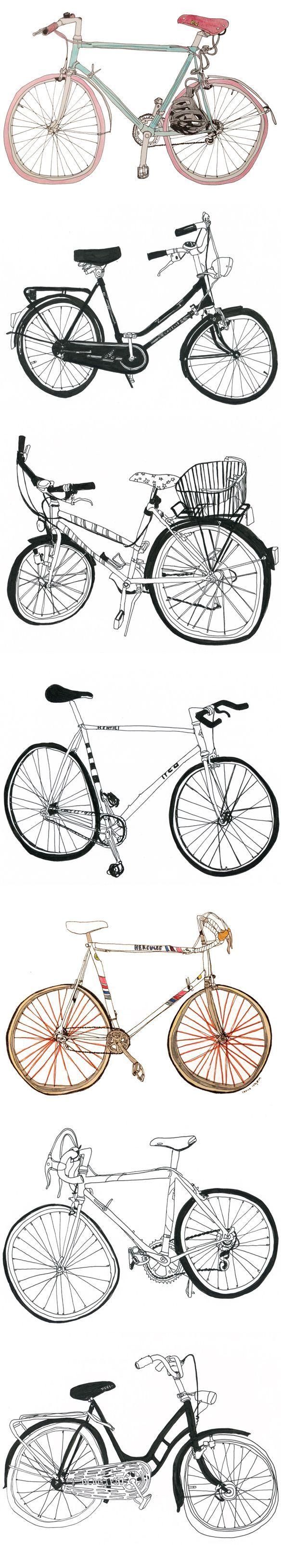 Bikes, by Marion Taschler