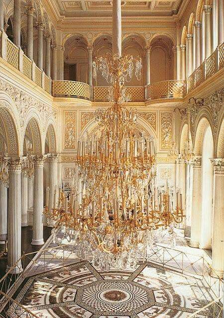 Pavilion Hall Hermitage Museum St Petersburg Russia