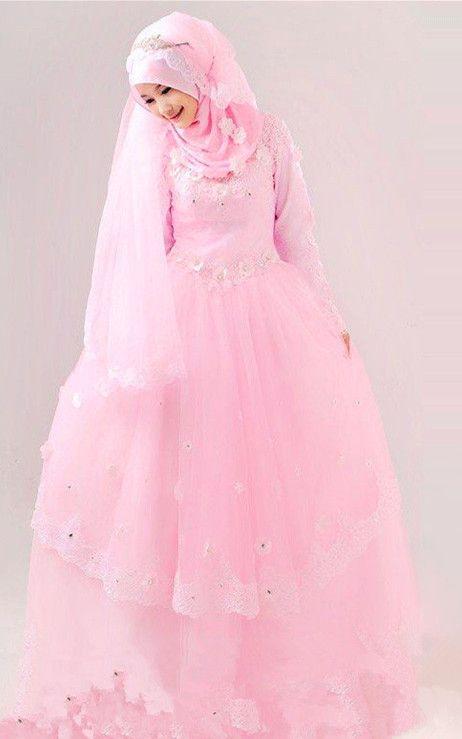 Attractive beautiful muslim wedding dress.Find more hijab and muslim wedding dress with muslimtourtravel.com in China.