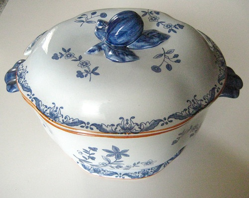 antique rorstrand lidded soup tureen sweden 1930s