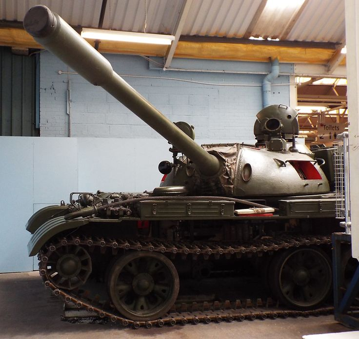 Soviet T-55 1955 to date Tank Museum Bovington