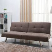 Found it at AllModern - Victorville Foldable Futon Sofa Bed