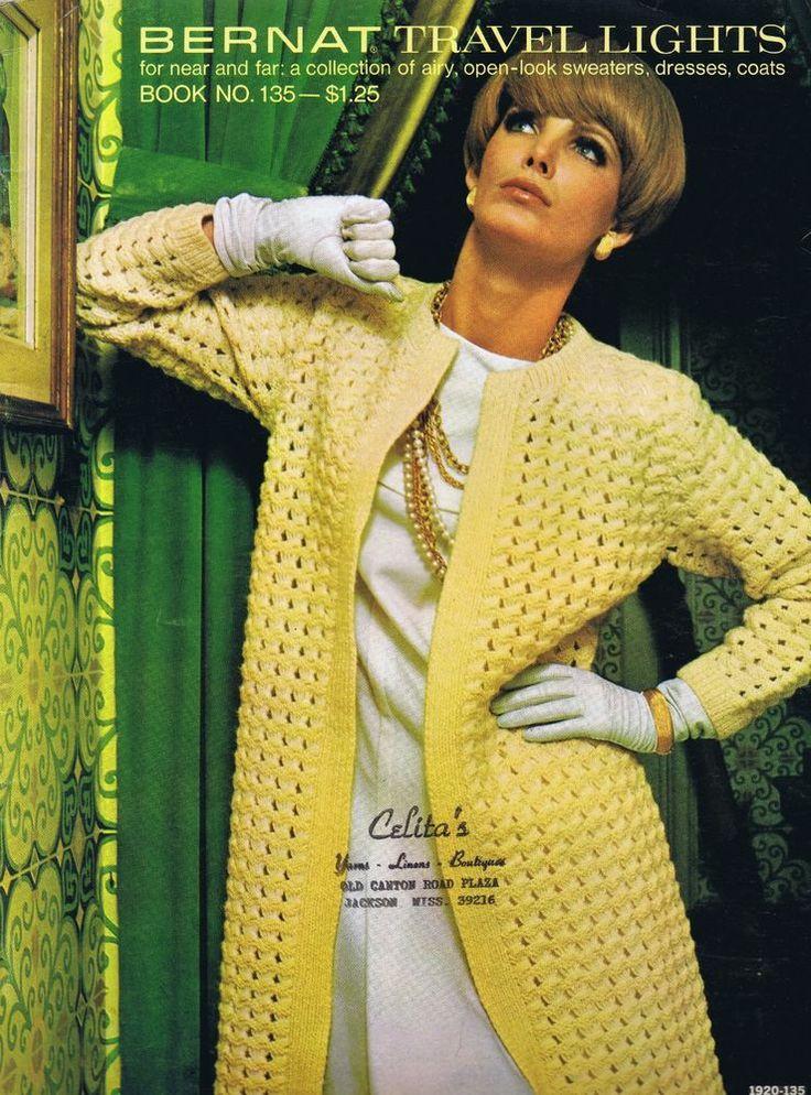 The 197 Best Vintage Knitting Crochet Patterns Dazespast Images On