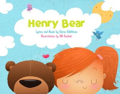 """Check out this @Behance project: """"Henry Bear"""" https://www.behance.net/gallery/10223517/Henry-Bear"""