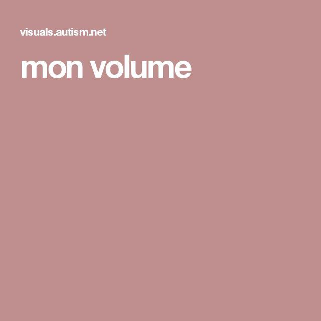 mon volume
