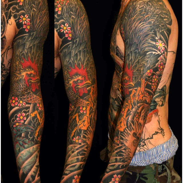36 best images about tattoos i like on pinterest rooster for Beautiful body tattoo