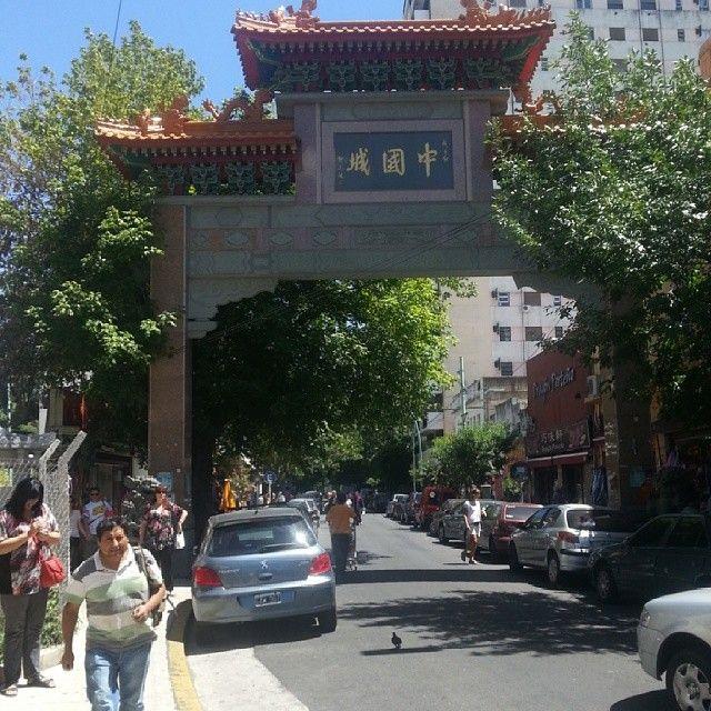 En la Ciudad de Buenos Aires, Argentina, se conoce como barrio chino a una zona del barrio de Belgrano con eje en dos cuadras de la calle Arribeños, sobre las vías del Ferrocarril Mitre y la estación Belgrano C.