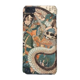 Utagawa Kuniyoshi suikoden hero fighting snake art #Utagawa #Kuniyoshi #suikoden #hero #fighting #giant #snake #art #unique #customizable #japanese #accessories and #gifts from Zazzle #Japan #warrior #samurai #tale #legend #art #gift
