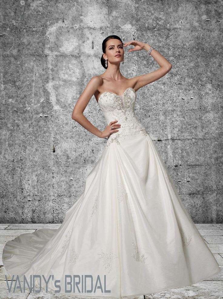 149 best Vandy\'s Bridal images on Pinterest | Short wedding gowns ...