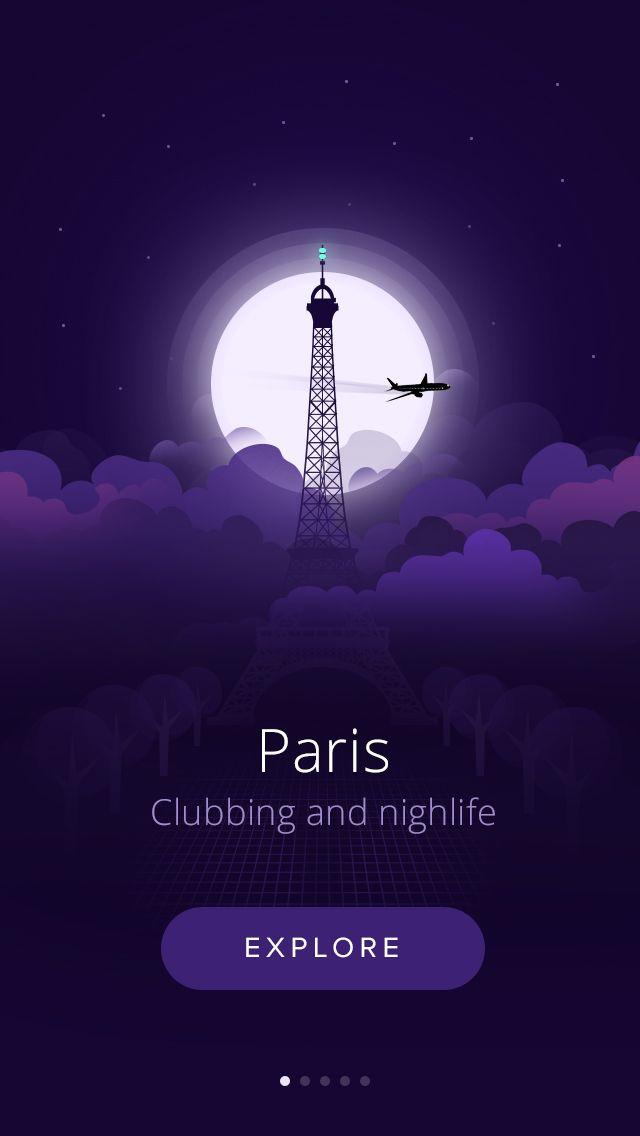 Paris nightlife by Vasjen Katro for Fabric