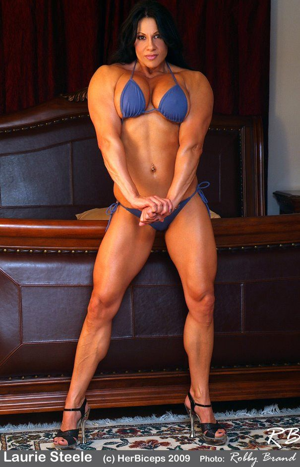 Laurie Steele Bodybuildster USA