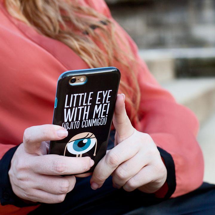 Funda iPhone 6 - Little eye with me!  Advierte a todo el mundo de que tu móvil no se toca ¡bastante pasta te ha costado!