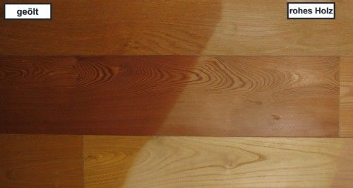 Holzbearbeitung Eiche
