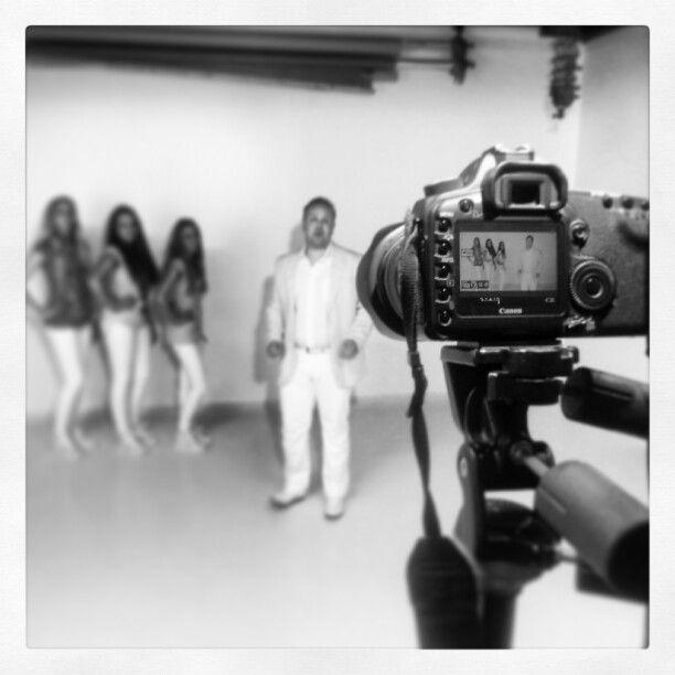 Opnames videoclip Appie Scheer.