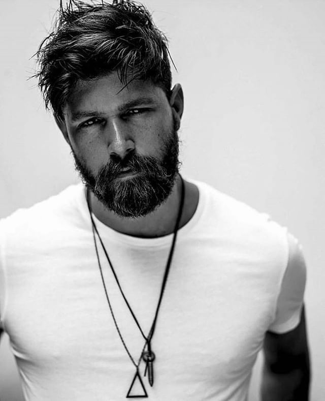 Mens Hairstyles With Beards find this pin and more on fade haircuts with beard by rbbaker53 Photo Fracrox