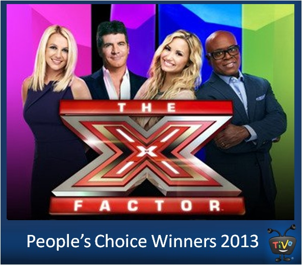 People's Choice Winners - Favorite Competition TV Show: The X Factor and Favorite Celebrity Judge: Demi Lovato