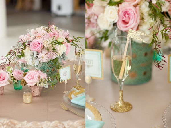 36 best turquoise pink and gold wedding images on for Turquoise gold wedding theme