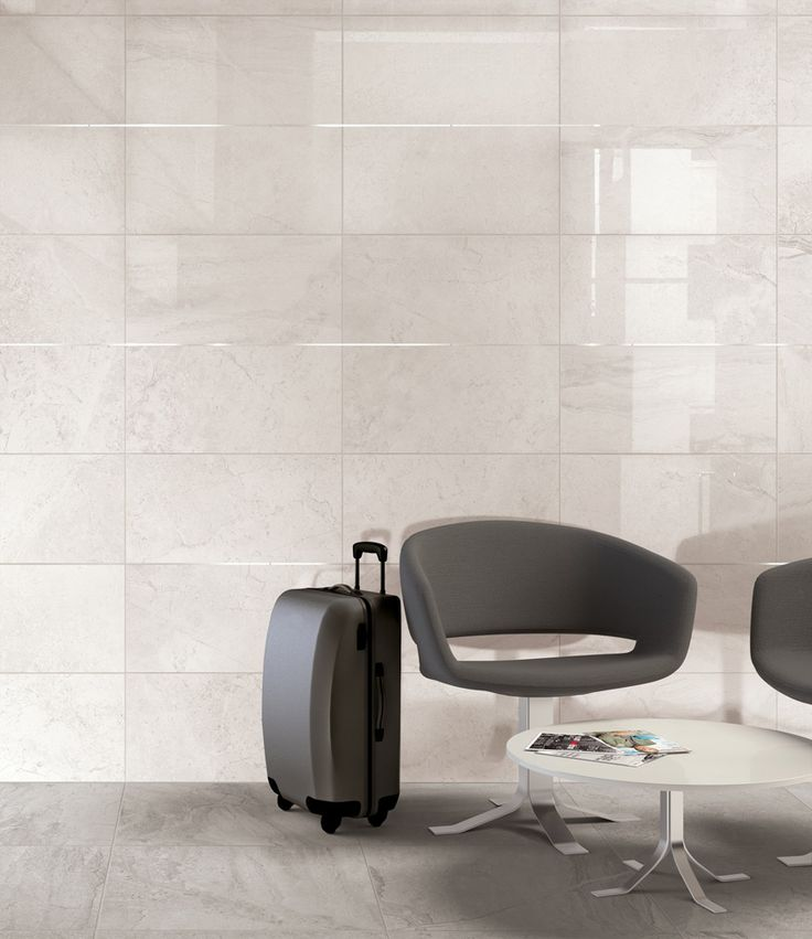 Minoli Tiles - Gotha - Absolutely luxurious wall and floor! Gotha is one of the stunning marble look collections at Minoli. Here in Platinum Matt colour on the floor, Diamond polished version on the wall - Floor Tiles: Gotha Platinum Matt 60 x 60 cm. / Wall Tiles: Gotha Diamond Lux 29.5 x 59 cm. - http://www.minoli.co.uk/tiles/gotha/ - #flooring #wall #marblelook #marbleeffect #marble #look #effect #grey #porcelain #tiles #Gotha #Minoli