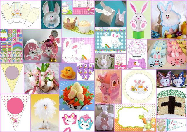 Frames, Toppers, Labels and Borders of the Easter Cuties Clip Art. | Is it for PARTIES? Is it FREE? Is it CUTE? Has QUALITY? It´s HERE! Oh My Fiesta! in english