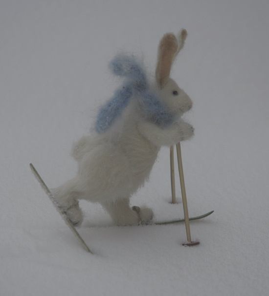 skiing!: Bunny Skiing, Awesome Pics, Stuff, Bunnies Hares Rabbits, Snow Bunnies, Animal Friends, Fun, Needle Felting, Skiing Felted