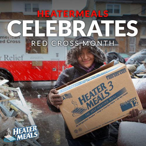 HeaterMeals has worked with the emergency preparedness sector and the American Red Cross since 1997. During Red Cross month, we honor men and women who deliver relief to communities around the corner, and around the country. #RedCross #RedCrossMonth