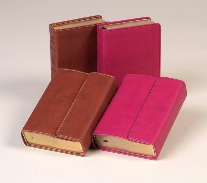 KJV Large Print Compact Reference Bible-Espresso Flexisoft (Value Price)