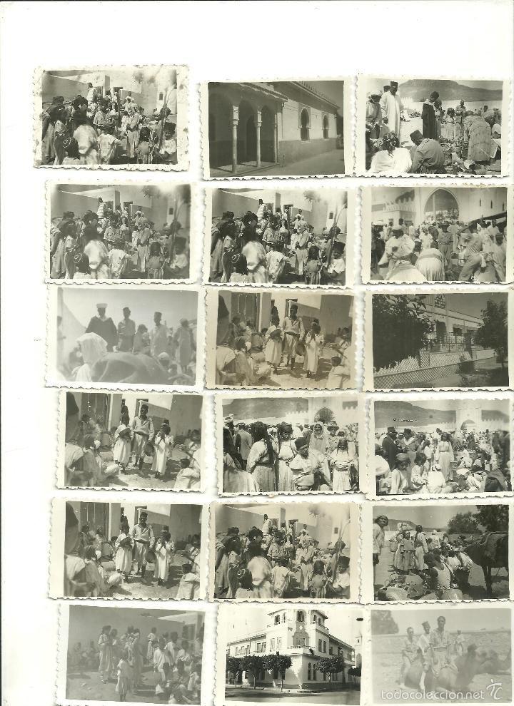 Fotografía antigua: MARRUECOS-RIF-NADOR-SEGANGAN-FOTOS ETNOGRÁFICAS-EDIFICIOS-SOLDADOS ESPAÑOLES-LEGIONARIOS - Foto 4 - 57744462