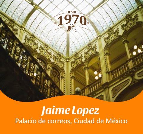Palacio de Correos en la Ciudad de México por Jaime Lopez.