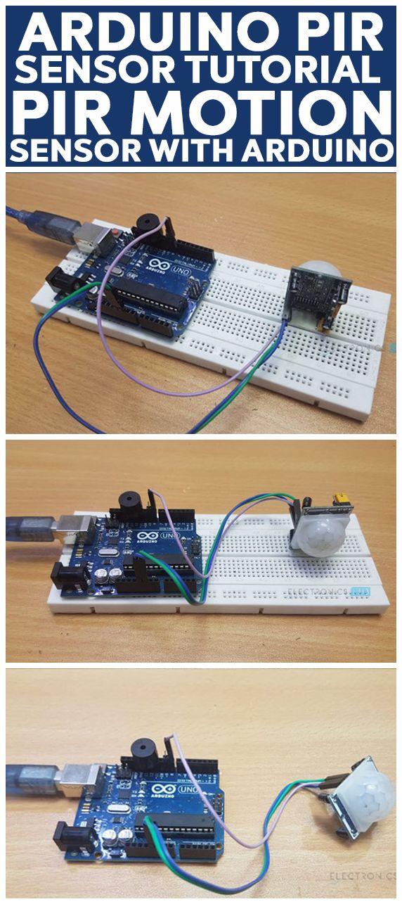 Arduino PIR Sensor Tutorial | biblioteca | Arduino sensors