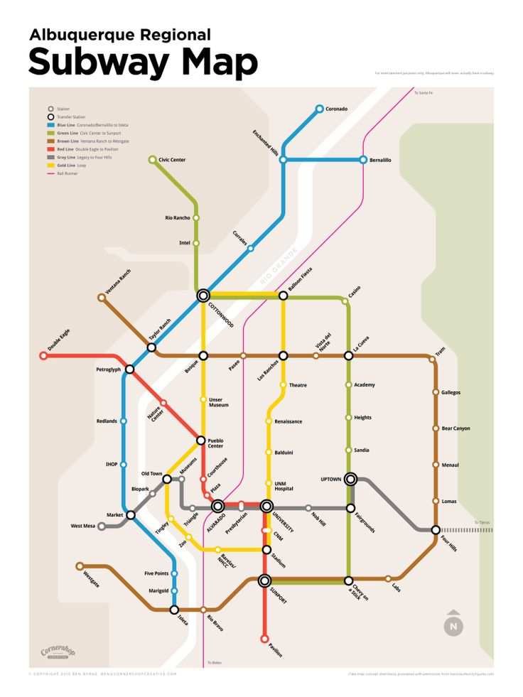 albuquerque-subway-map