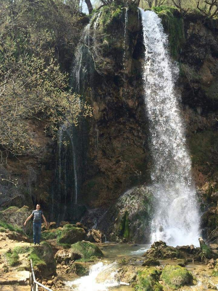 Jedan od vodopada u Gostilju