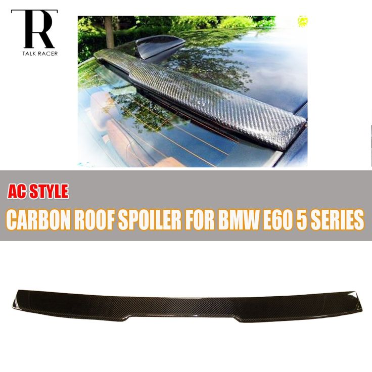 88.15$  Watch more here  - E60 AC Style Carbon Fiber Rear Trunk Spoiler for BMW E60 520i 523i 525i 528i 530i 535i 520d 525d 530d 535d 2004 - 2009