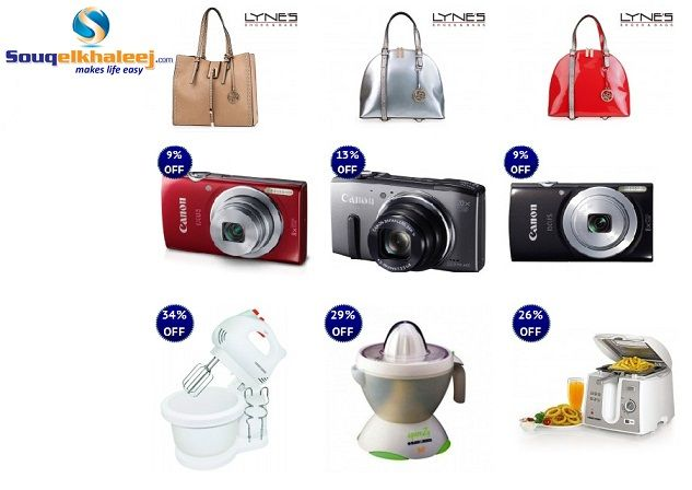 Souqelkhaleej.com is offering #Cameras, #FashionBags, #KitchenAppliances and many more with heavy discount. Place Your Order Today!!! http://deals.souqelkhaleej.com/index.php