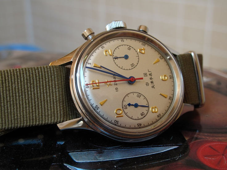 Seagull 1963 with Nato strap