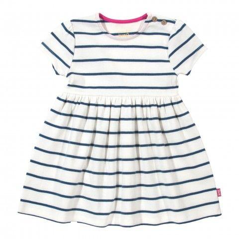Organic cotton nautical dress front