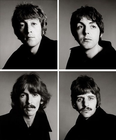 The face of the Beatles.