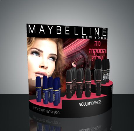 Maybelline counter