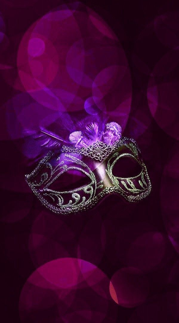 Black Pink Masquerade Wallpaper By Artist Unknown Carnival Images Hello Kitty Images Pretty Phone Wallpaper