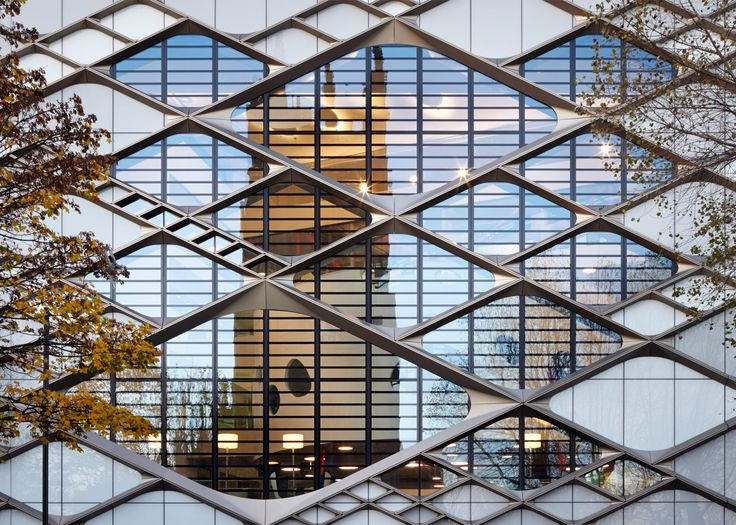 Twelve Architects adds patterned facade to university