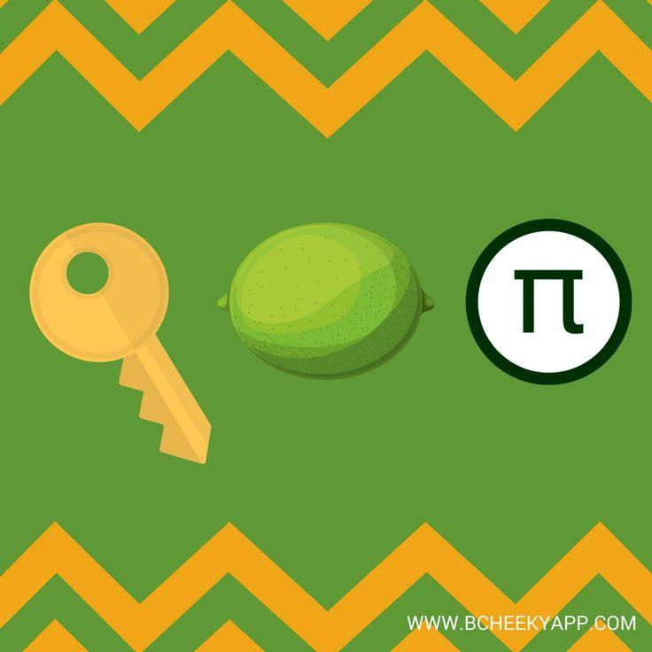 Key Lime Pie #Pun #punny www.bcheekyapp.com