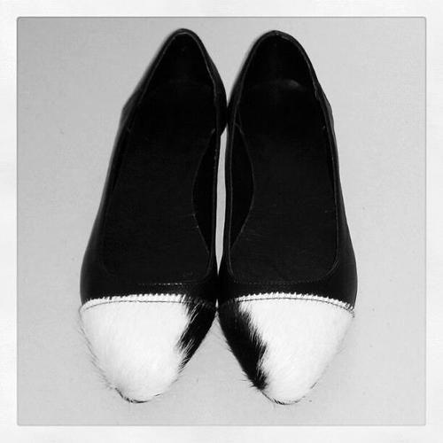 Genuine #Leather #Flats  #Ponyhair #kalishoes