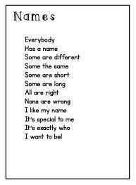 Image result for poem about family kindergarten