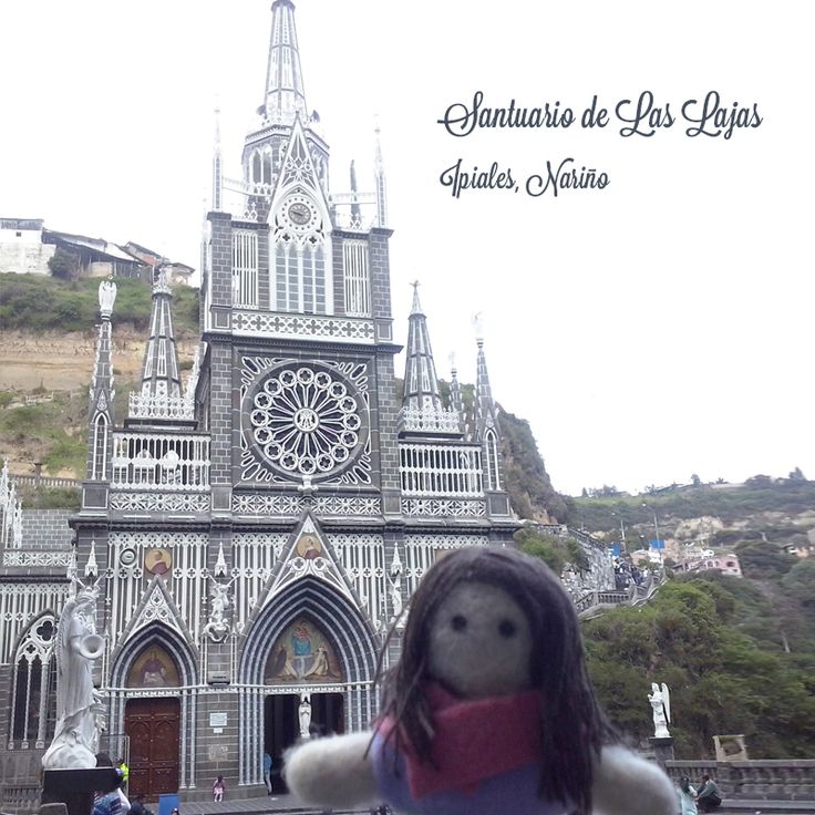 Dulce in Ipiales Nariño, Colombia. Felted doll