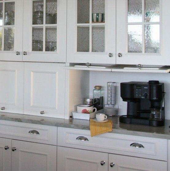 17 Best ideas about Kitchen Appliance Storage on Pinterest