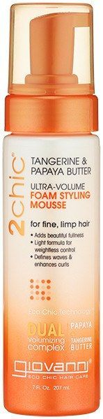Giovanni 2Chic Ultra-Volume Foam Styling Mousse 7 oz